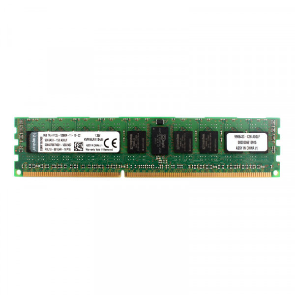 Купить Оперативная память Kingston DDR3-1600 8Gb PC3L-12800R ECC Registered (KVR16LR11S4/8I)