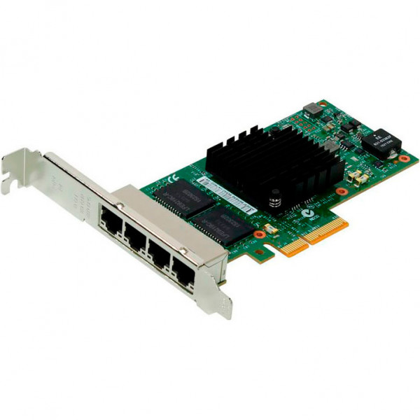 Купить Сетевая карта Intel Ethernet Server Adapter I350-T4 1000Base-T x4 (I350T4V2)