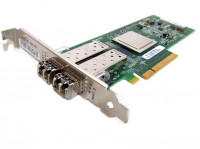 Сетевая карта QLogic QLE2562 HP AJ764-63002 8Gb Dual Port 8Gb Fibre Channel