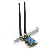 Wi-Fi адаптер EDUP Intel AX200 PCI-e 2.4Gbps 802.11ax Bluetooth 5.1 (EDAX200)