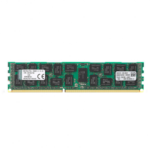 Купить Оперативная память Kingston DDR3-1333 16Gb PC3L-10600R ECC Registered (KTM-SX313LV/16G)
