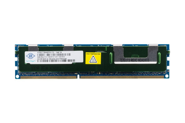 Купить Оперативная память Nanya DDR3-1333 8Gb PC3-10600R ECC Registered (NT8GC72B4NB1NJ-CG)