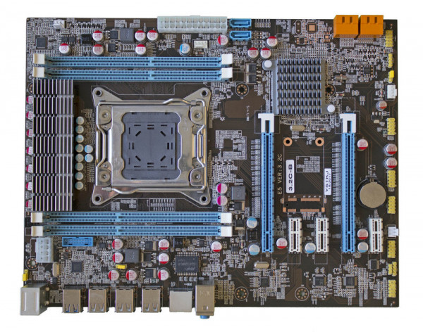 Купить Intel X79 LGA2011 DDR3 USB 3.0 WiFi SLI ATX