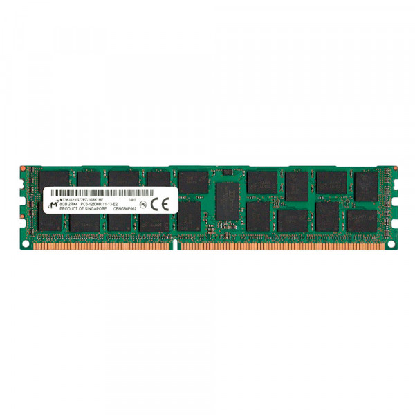 Купить Оперативная память Micron DDR3-1333 8Gb PC3-10600R ECC Registered (MT36JSF1G72PZ-1G4M1FF)