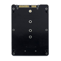Переходник Black B + M key M.2 NGFF (SATA) SSD to 2.5 SATA Adapter