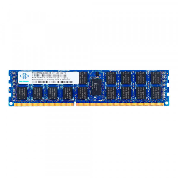 Купить Оперативная память Nanya DDR3-1333 8Gb PC3-10600R ECC Registered (NT8GC72B4NG0NK-CG)