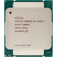 Процессор Intel Xeon E5-2680 v3 SR1XP 2.50GHz/30Mb LGA2011-3