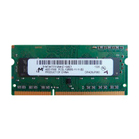 Оперативная память Micron SODIMM DDR3-1600 4Gb PC3L-12800S (MT8KTF51264HZ-1G6E1)