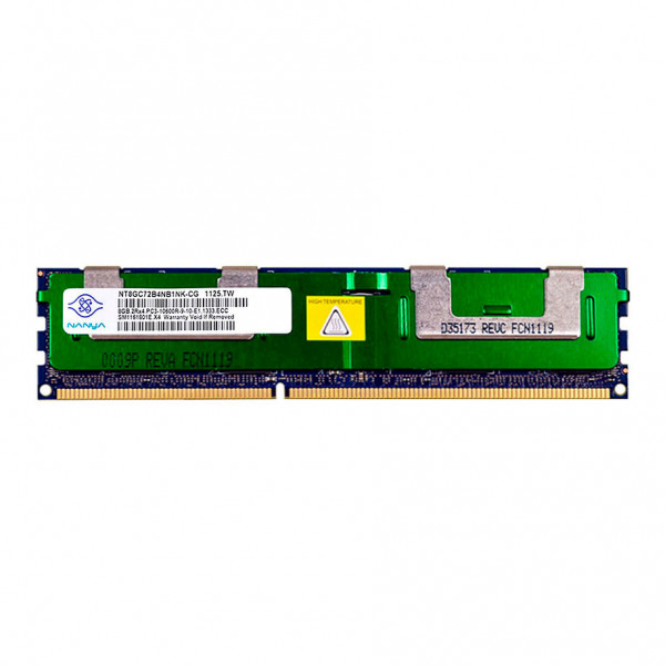 Купить Оперативная память Nanya DDR3-1333 8Gb PC3-10600R ECC Registered (NT8GC72B4NB1NK-CG)